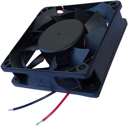 AERZETIX: Ventilador para Caja de Ordenador PC 24V 70x70x20mm 49,27m3/h 33dBA 3200rpm 1.59W 0.066A Vapo 2 Cables 24AWG C14595