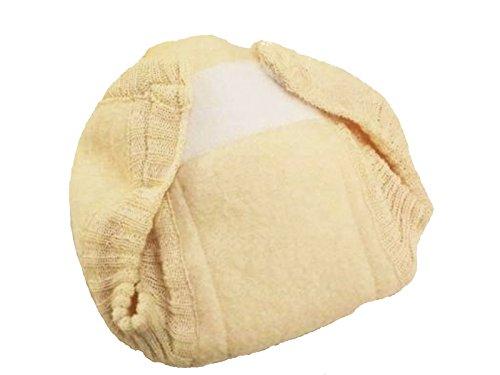 Disana 13301XX - Pantalón de lana natural, talla: 86/92 (1-2 años)