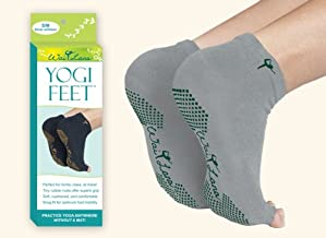 Wai Lana Yogi Feet Yoga Equipment, Silver/Green, Small/Medium