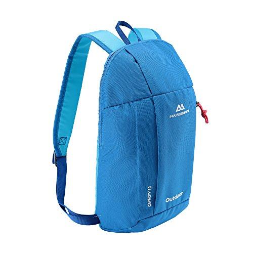 BROGEND 10L Hiking Daypack for Hiking and Travel Kids Backpack, Casual Backpack, Mini Backpack (Sky Blue, 10L)