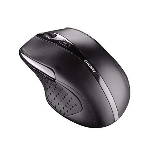 Cherry MW 3000 – Ergonomische Maus – Kabellos und energiesparend – Für Rechtshänder – Schwarz – Mobil