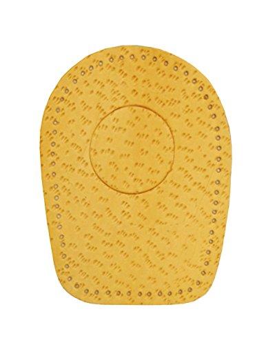 FabaCare Corbby Heel Pro Premium Schuheinlagen Leder orthopädisch Ferse, Fersenkissen für Fersensporn, Fersenkeil, Einlage für bequemes Gehen und Laufen, 1 Paar