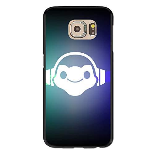 Video Game Over-Watch Galaxy S6 Case,Samsung S6 Case, Anti-Scratch Flexible TPU Protective Skin Cover Case Black