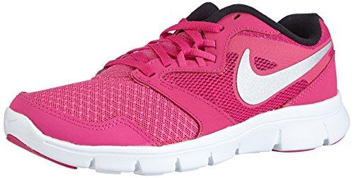Nike Nike Nike flex experience 3 (gs), 653698 Mädchen Laufschuhe, Pink (Ht pnk/mtllc slvr-frbrry-white 601), 38.5 EU