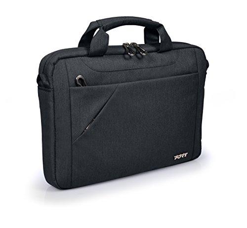 'Port Designs 13507215.6Klassische Schwarz Tasche von Laptops–Taschen von Laptops (Klassisch, Schwarz, monoton, Polyester, 385x 35x 260mm, China)