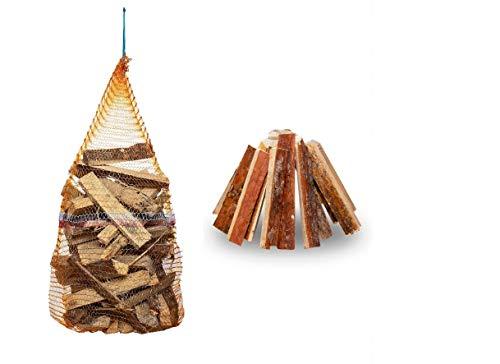 Anfeuerholz Brennholz 100% für Kaminofen Kaminholz Feuerholz trocken ofenfertig Holz 20kg