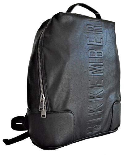 Dirk Bikkembergs 7bdd88060a201, Zaino Uomo, Nero (0A2 Black), 15.5x42x32.5 cm (W x H x L)