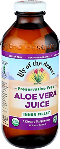 Lily of the Desert Aloe Vera Juice, Inner Fillet, No Preservatives, 16 Ounces