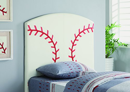 Coaster Home Furnishings 460167 Casual Headboard, Twin, White