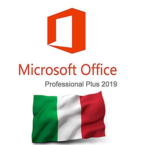 MS Office 2019 Professional Plus Key - Versione completa 32/64 bit - Versione italiana - Spedizione massima 1-2 ore in aggiunta 24 ore su 24, 7 giorni su 7 anche nei giorni festivi