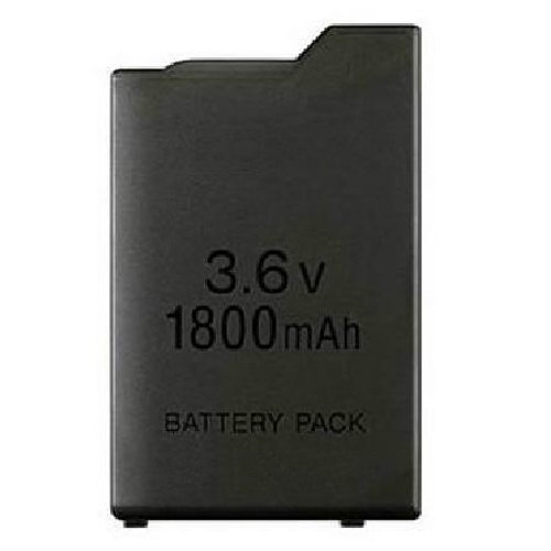 OSTENT 1800mAh 3.6V Lithium Ion Rechargeable Battery Pack Replacement for Sony PSP 1000 PSP-110 Console
