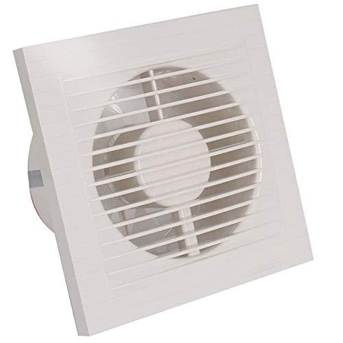 LANDUA Abluftventilator Home Badezimmer Toilette Küche Geräuscharmer Ventilator Wandmontage Abluftrohr Abluftventilator