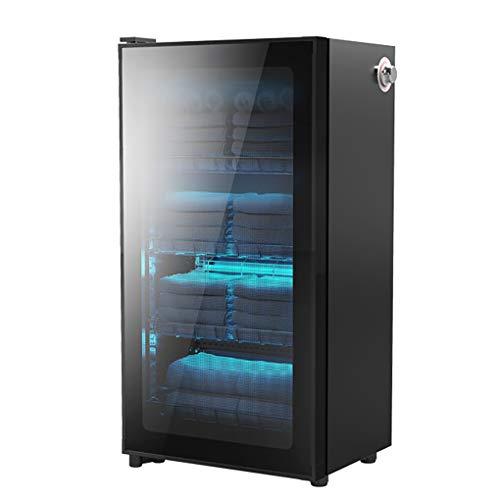 MGW Gabinete de desinfección Especial para Toallas de Limpieza de Temperatura Media de ozono Ultravioleta, gabinete de desinfección con 3 Capas, 188 litros