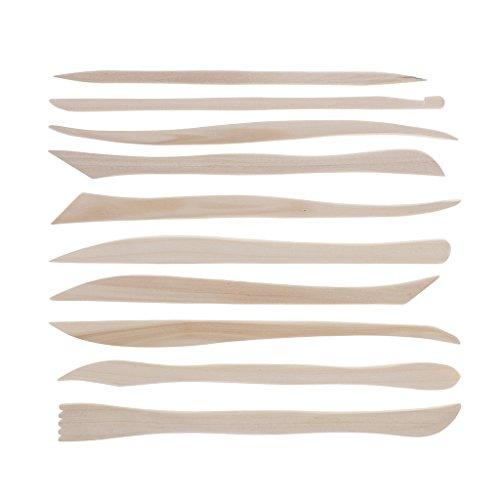 10 Stück Keramik Tonwaren Werkzeug Set Töpferei Keramik Ton Sculpting Tools
