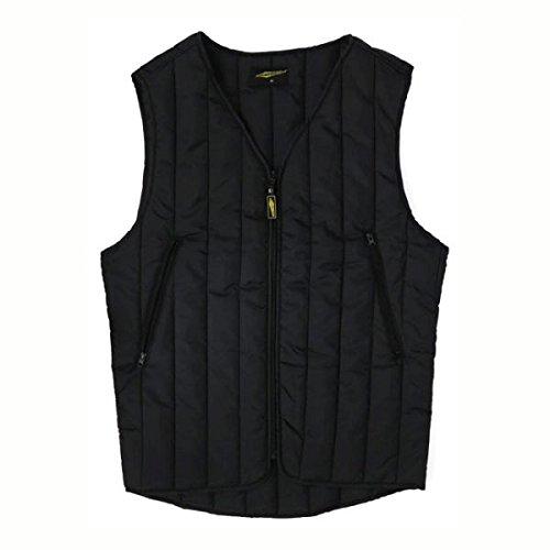 GILET heren onderhemd zwart BASIC VEST motorfiets biker XL zwart.