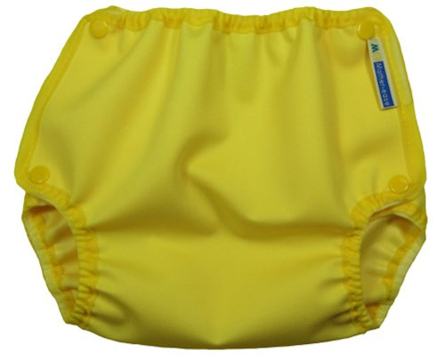 Mother-Ease One-Size Cloth Diaper Cover (Medium (10-20 lbs), Yellow Sundance)