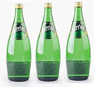 PERRIER Regular Sparkling Mineral Water - 3 x 750 ml