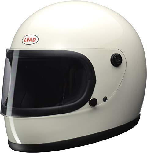 リード工業(LEAD) バイクヘルメット フルフェイス RX-200R ホワイト フリーサイズ (57-60cm未満) -