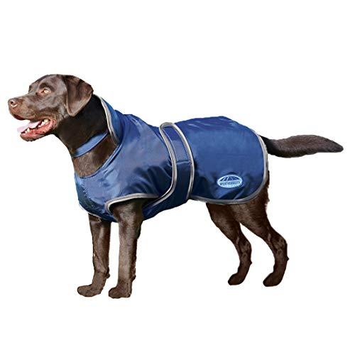 """Weatherbeeta Comfitec Windbreaker 420D Deluxe Dog Coat Navy/Grey 22"""""""