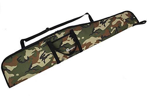 Reverse Waffentasche Jagdtasche Waffenfutteral für Luftgewehr mit Fernrohr Gewehrfutteral Gun Case Windjacke (Military, 120cm)