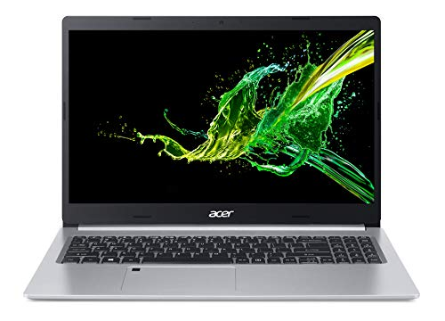 Acer Aspire 5 A515-55 15.6 inch Laptop - (Intel Core i5-1035G1, 8GB RAM, 512GB SSD, Full HD Display, Windows 10, Silver) - Amazon Exclusive