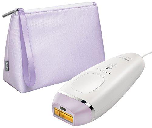 Philips Lumea Essential IPL Haarentfernungsgerät BRI863 – Lichtbasierte Haarentfernung für dauerhaft glatte Haut - inklusive 1 Multifunktions-Aufsatz – Kabelgebunden