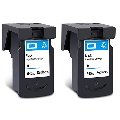 Cartucho de tinta PG-545XL CL-546XL, reemplazo de alto rendimiento para Canon PIXMA IP2850 MG2450 MG2550 MX495 TS205 TS305 TS3150 TR4550 Impresora Negro y Tri-Color 2 Black