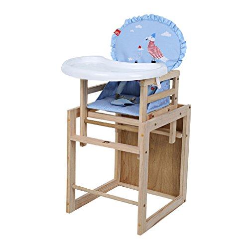 Kinderstoel Effen houten kinderstoel Baby-eetstoel Eetstoel met tafels, stoelen en stoelen Kinderkruk Kinderbeveiligingsstoel