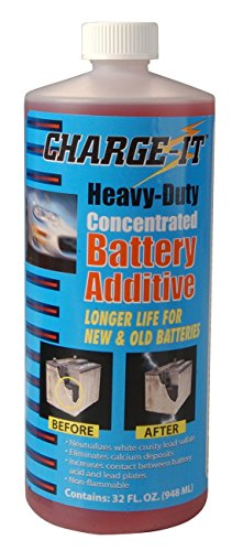 Charge It CH-77QHD Heavy-Duty Concentrated Battery Additive, 32 fl. oz.