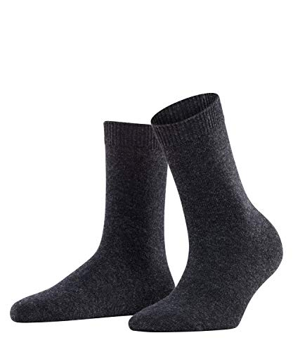 FALKE Damen Socken, Cosy Wool W SO-47548, Grau (Anthracite Melange 3089), 39-42