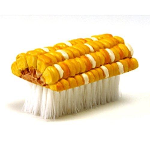 Norpro Soft Bristle Corn Silk Remover Brush, As Shown