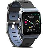 FITVII GPS Smartwatch with 17 ...