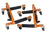 XL Perform Tools 552106 2 Crics Hydrauliques de Déplacement, Go Jack, capacité 680kg Levage 345mm