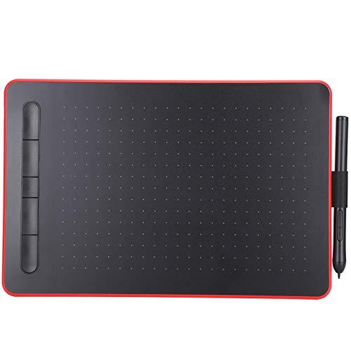 Combinación de Teclas de Acceso Directo Tableta de Dibujo finamente dispuesta equidistantemente, Tableta gráfica para Estudiantes, Dibujo para computadoras portátiles en el hogar