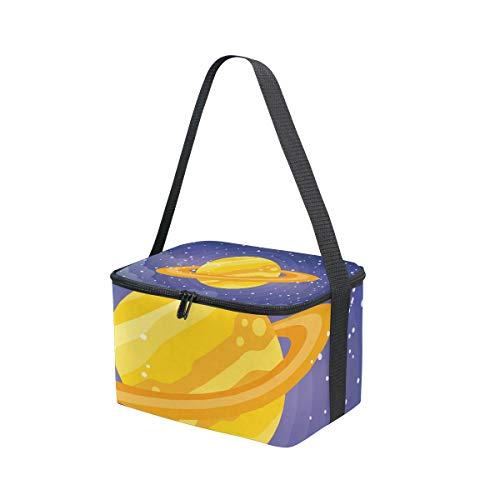 MONTOJ Saturn Isolierte Lunchbox Kühltasche