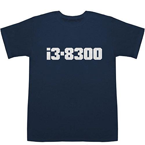 i3-8300 T-shirts ネイビー L【i3 vs fx 8300】【i3 8300】