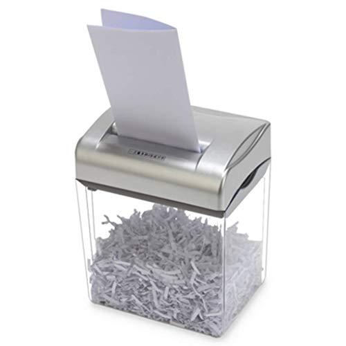 SCDFDJ Bürobedarf Hacker Shredder, 4.5L Mini Electric Büropapier Altpapier, Crusher, Haushaltsklein Beweglich, Kreditkarte/Staples