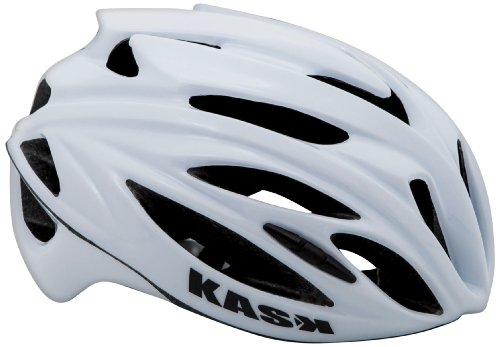 Kask Rapido - Casco para Bicicleta de Carretera, Color Blanco, Talla M...