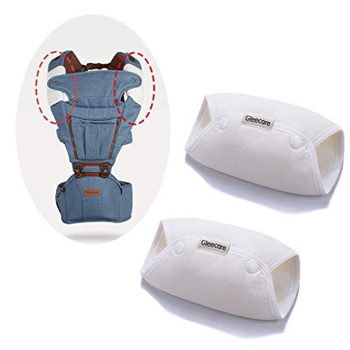 ✿ 1 Paar Babytrage Speicheltuch Neugeborene Kinderwagen Schultergurt Polster spezielles Zubehör Taille Hocker Saugnapf Handtücher