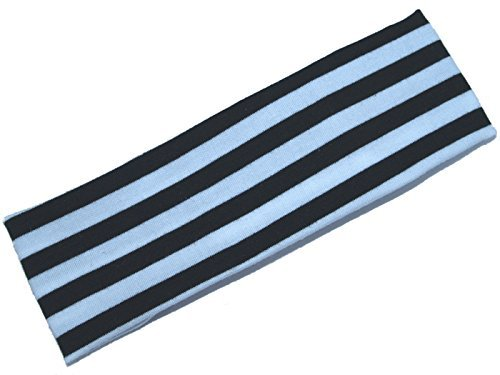 Black and white design stretch fabric kylie band head band