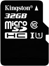 Professional Kingston 32GB Lenovo MicroSDHC Card with custom formatting and Standard SD Adapter! (Class 10, UHS-I)