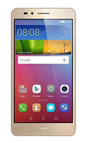 Huawei SIMフリースマートフォン GR5 16GB (Android 5.1/オクタコア/5.5inch/micro SIM) ゴールド KII-L22-...