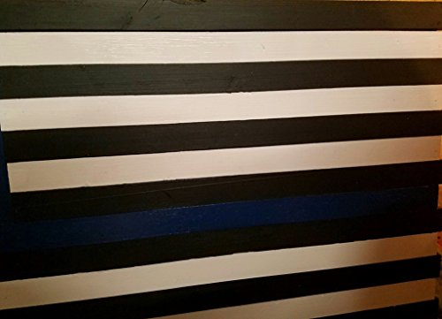 This Blue Line Conceealment flag-Police officer Decor- hidden compartment-