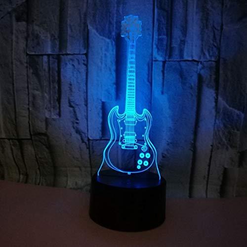 Jiushixw 3D acryl nachtlampje met afstandsbediening, kleurverandering, tafellamp, scheuren, geglazuurde tafellamp, auto model, kleur glad nachtlampje, kleine babytafellamp, kindercadeau