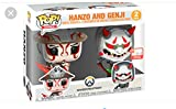 Funko Pop Hanzo and Genji 2-Pack E3 2019 Limited Edition