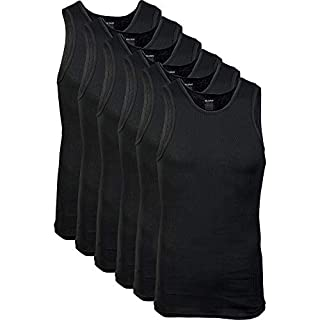 Gildan Men's A-Shirts Tanks Multipack, Black (6 Pack), Small (B07JCJMPVN)   Amazon price tracker / tracking, Amazon price history charts, Amazon price watches, Amazon price drop alerts