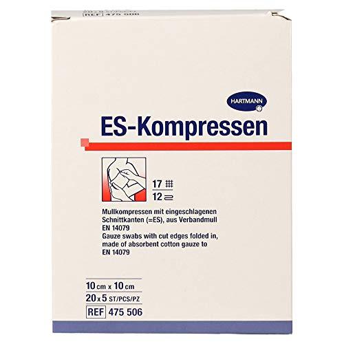 ES-Kompressen Steril 10x10 cm Großpackung, 20X5 St