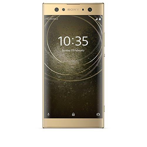 Sony Xperia XA2 Ultra Smartphone da 32 GB, Oro, Dual SIM, Dual Camera