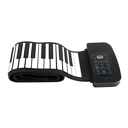 Why Choose Electronic Keyboards 88 Keys Roll Up Piano, Portable Silicon Built-in Stereo Speaker 1000...