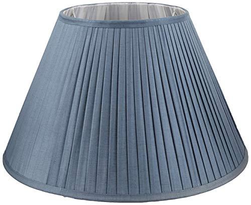 Better & Best lampenkap van zijde, smal, 50 cm, grijs